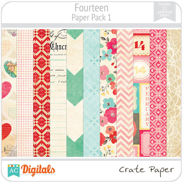 Fourteen Paper Pack #1