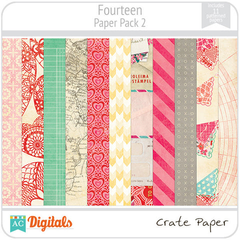 Fourteen Paper Pack #2