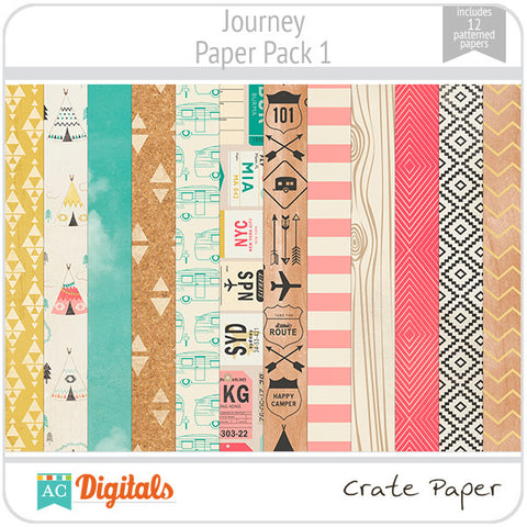 Journey Paper Pack #1