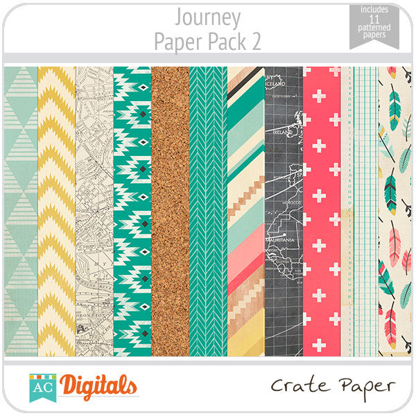 Journey Paper Pack #2