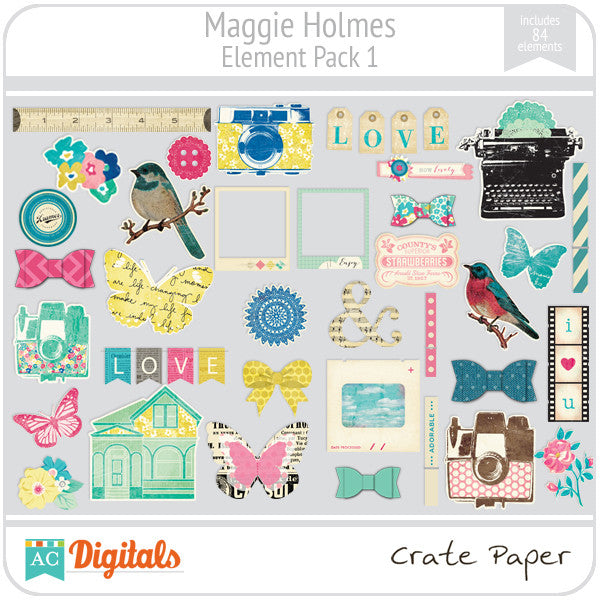 Maggie Holmes Element Pack #1