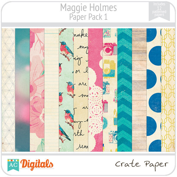 Maggie Holmes Paper Pack #1