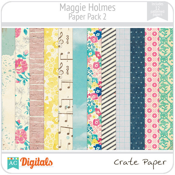 Maggie Holmes Paper Pack #2