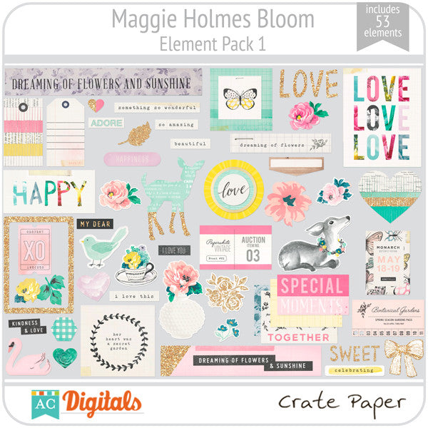 Maggie Holmes Bloom Full Collection