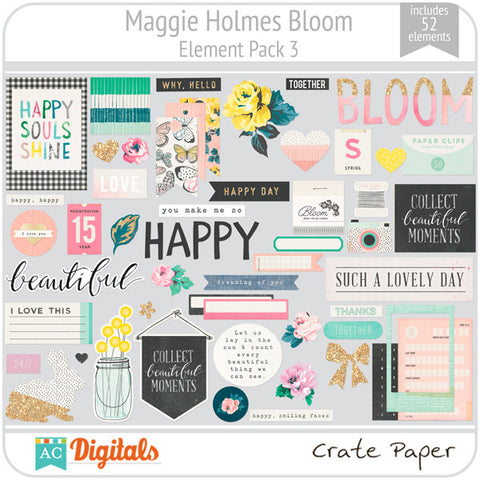 Maggie Holmes Bloom Element Pack #3