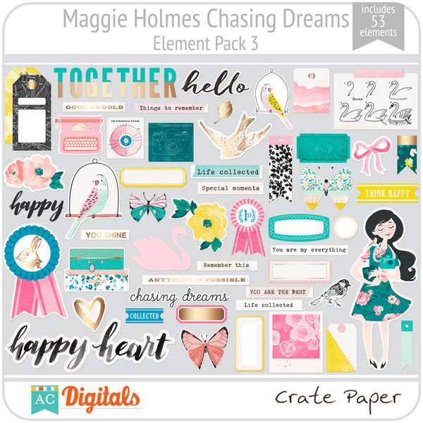 Maggie Holmes Chasing Dreams Element Pack 3