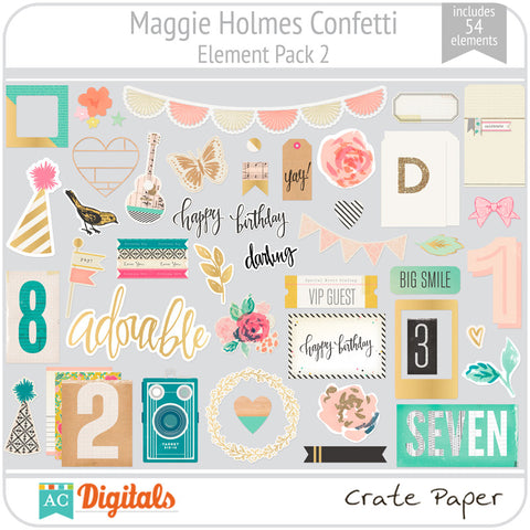Maggie Holmes Confetti Element Pack 2
