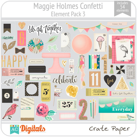 Maggie Holmes Confetti Element Pack 3