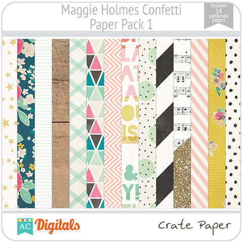 Maggie Holmes Confetti Paper Pack 1