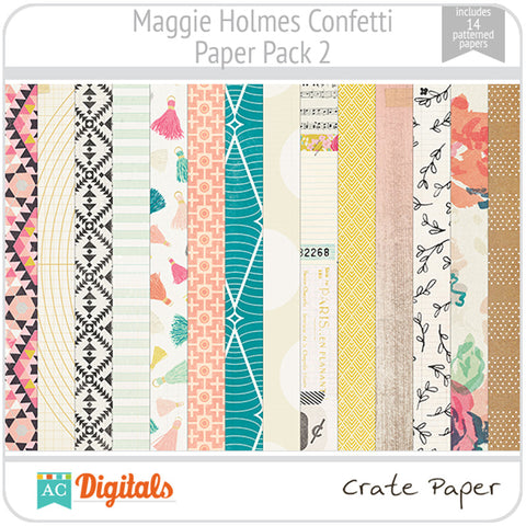 Maggie Holmes Confetti Paper Pack 2