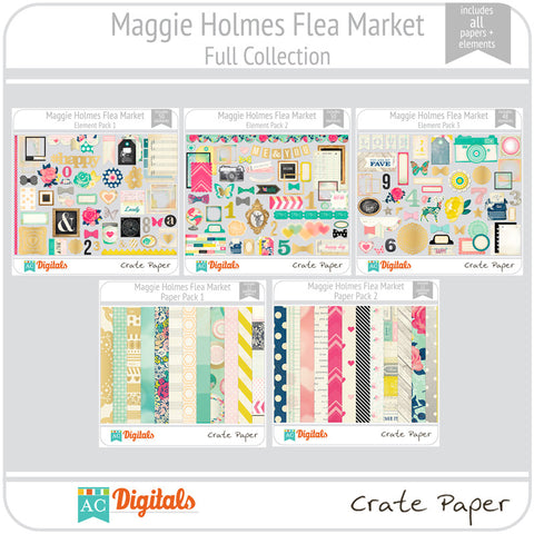 Maggie Holmes Flea Market Full Collection