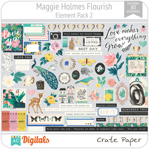 Maggie Holmes Flourish Element Pack 2