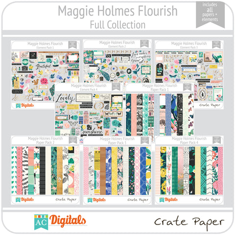 Maggie Holmes Flourish Full Collections