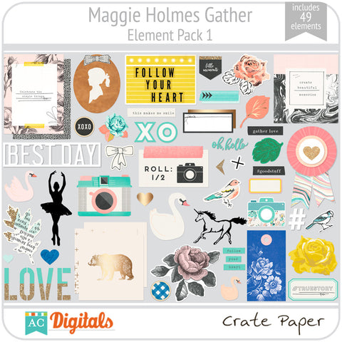 Maggie Holmes Gather Element Pack 1