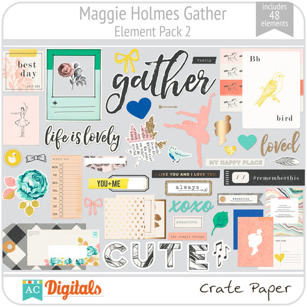 Maggie Holmes Gather Element Pack 2