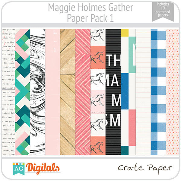 Maggie Holmes Gather Paper Pack 1