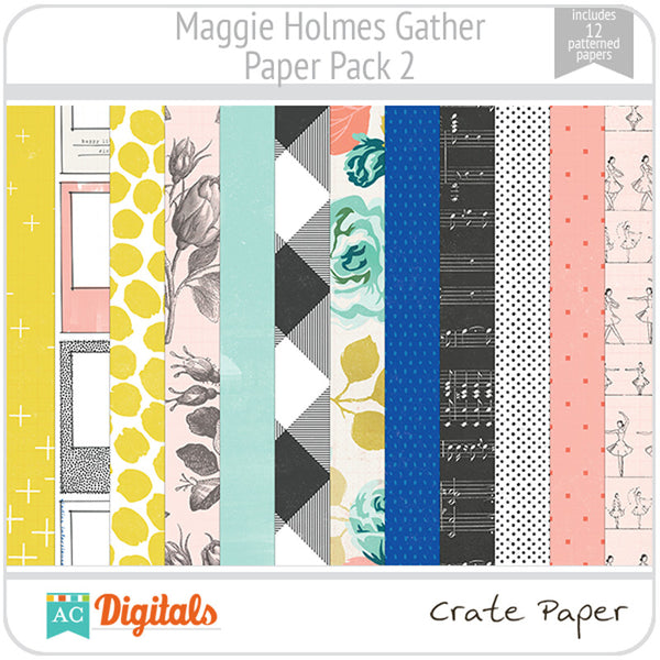 Maggie Holmes Gather Paper Pack 2