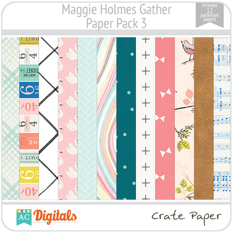 Maggie Holmes Gather Paper Pack 3
