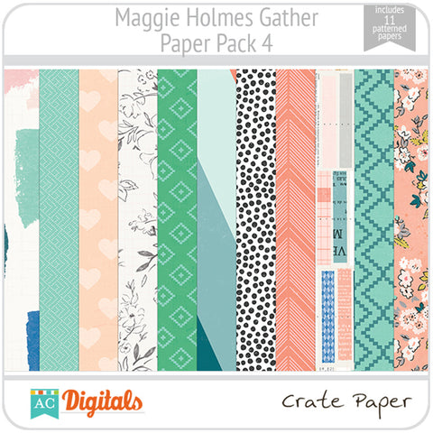 Maggie Holmes Gather Paper Pack 4