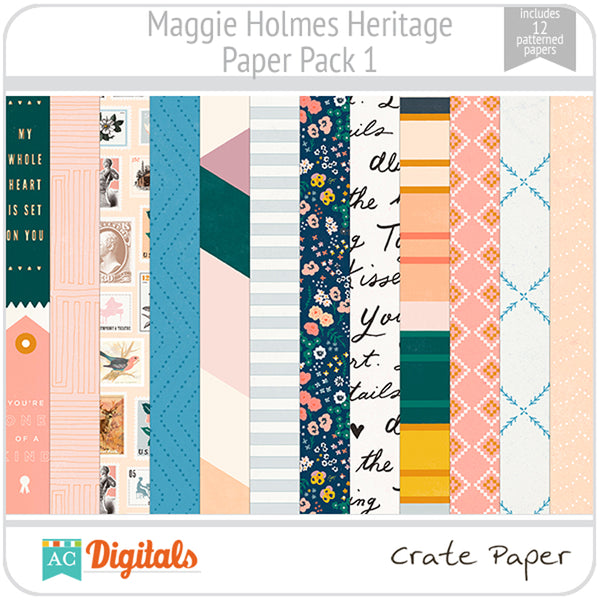 Maggie Holmes Heritage Full Collection