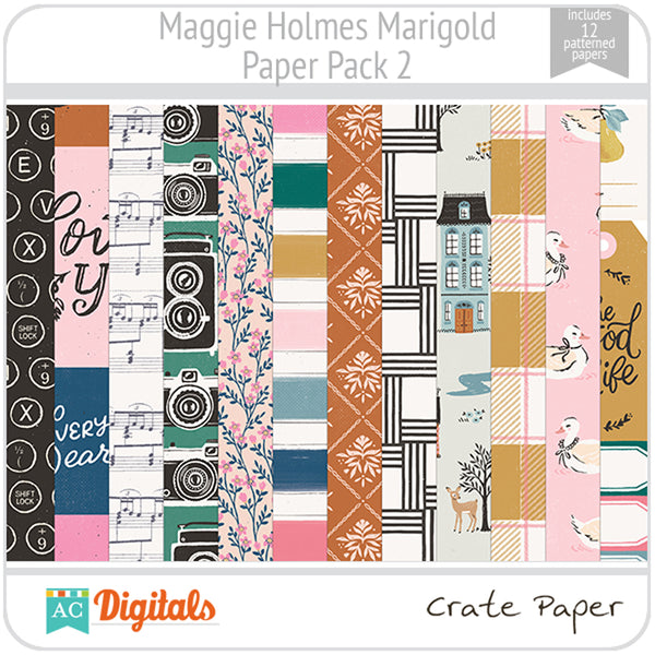 Maggie Holmes Marigold Paper Pack 2