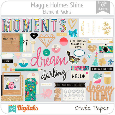 Maggie Holmes Shine Element Pack #2