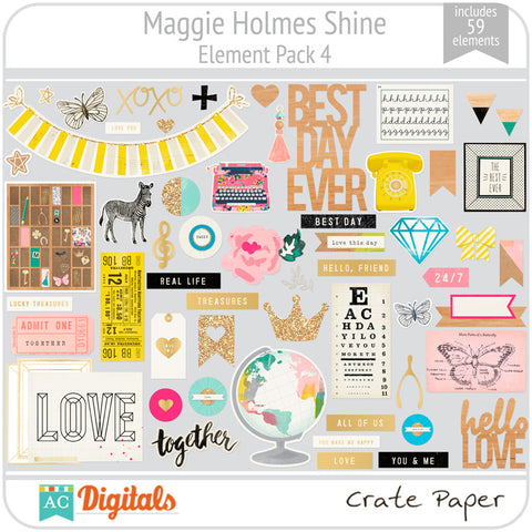 Maggie Holmes Shine Element Pack #4