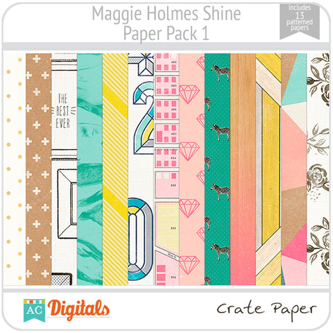 Maggie Holmes Shine Paper Pack #1