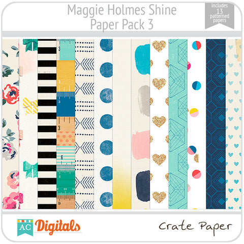 Maggie Holmes Shine Paper Pack #3