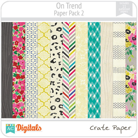 On Trend Paper Pack #2