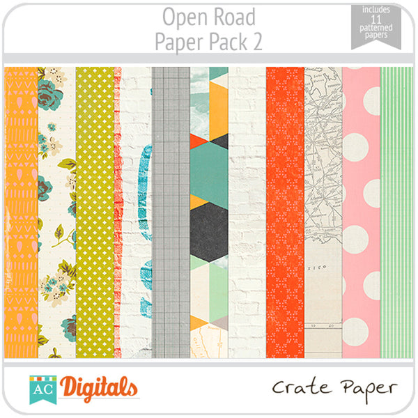 Open Road Paper Pack #2