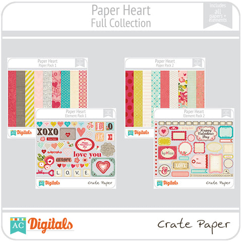 Paper Heart Full Collection