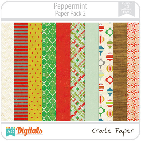 Peppermint Paper Pack #2