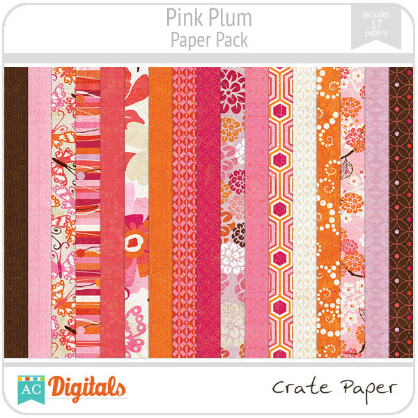 Pink Plum Paper Pack