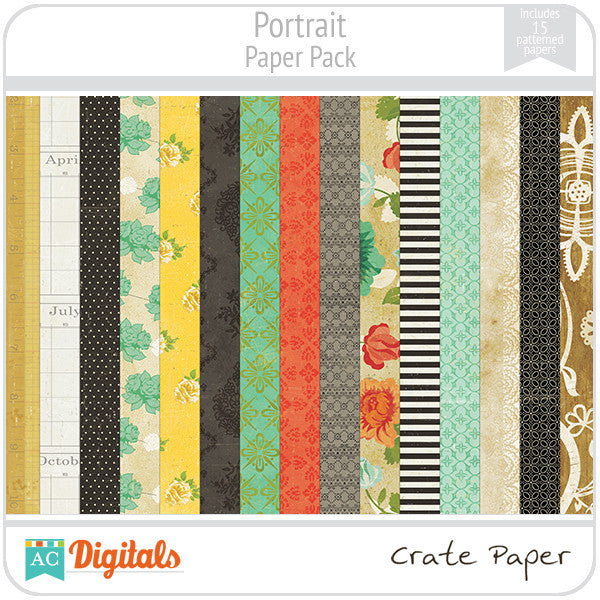 Portrait Paper Pack