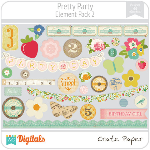 Pretty Party Element Pack #2