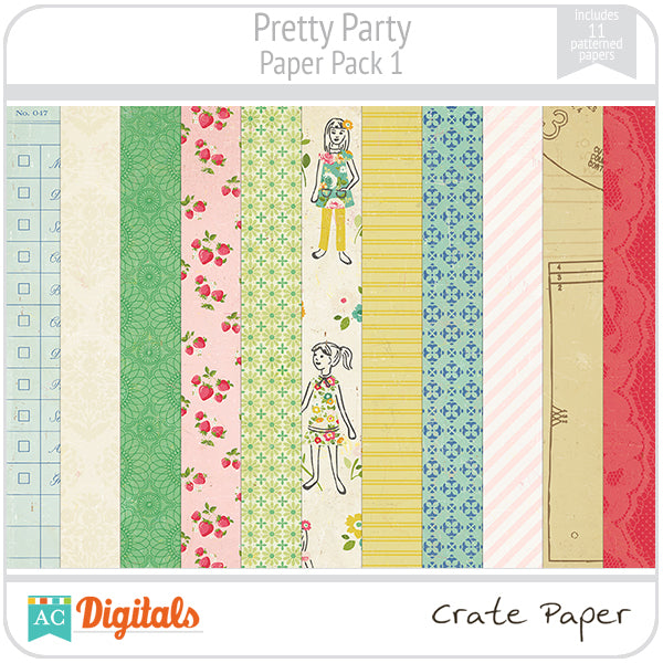 Pretty Party Paper Pack #1