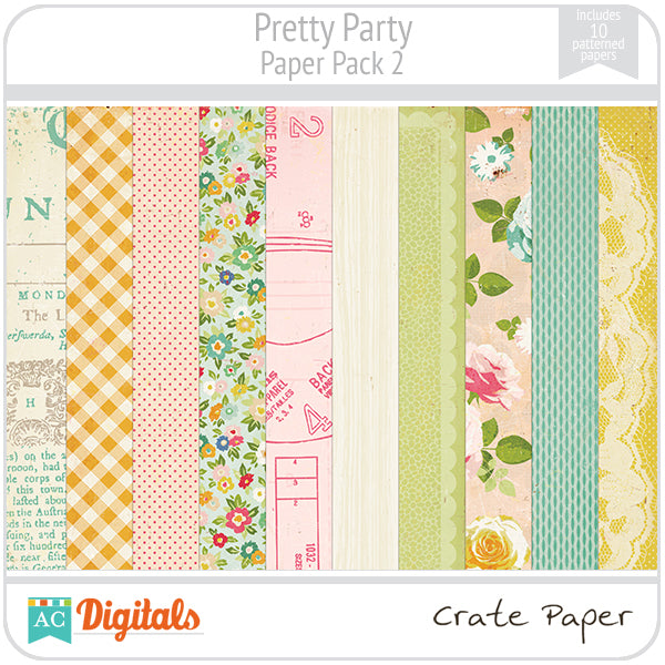 Pretty Party Paper Pack #2