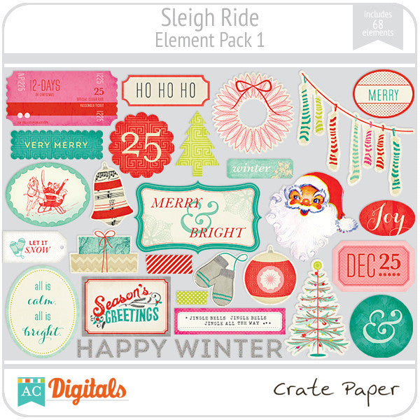Sleigh Ride Element Pack #1