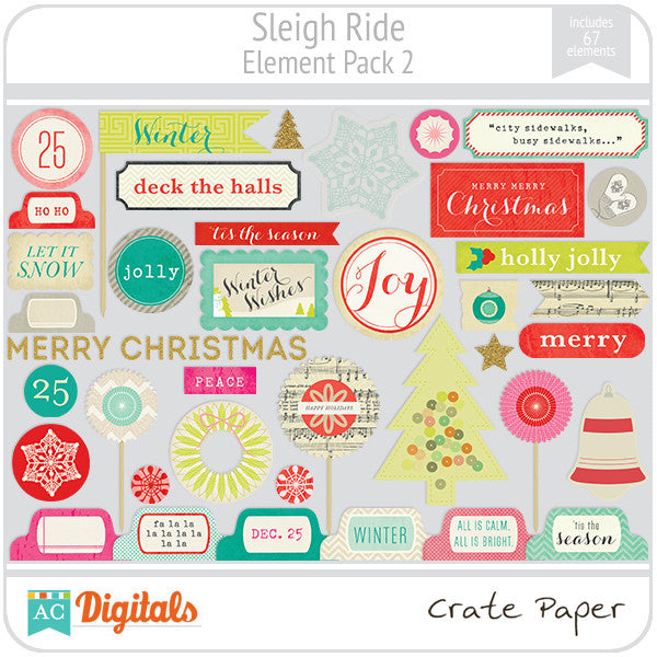 Sleigh Ride Element Pack #2