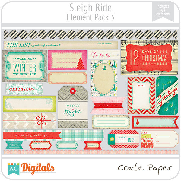 Sleigh Ride Element Pack #3