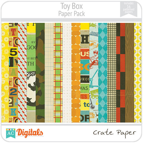 Toybox Paper Pack