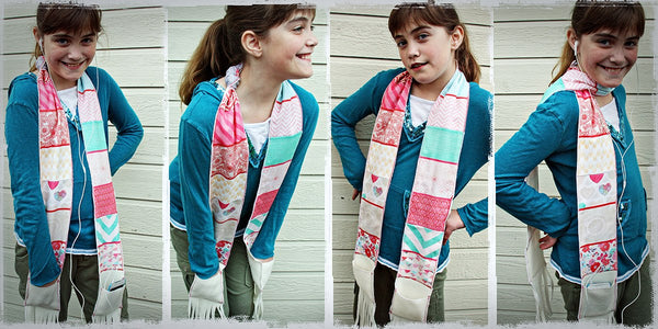 Scarf by Creative Team Member Camille Robinson