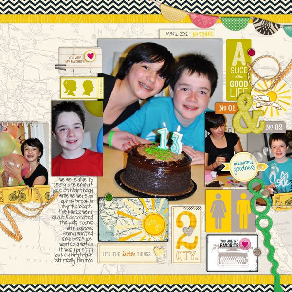 Layout by Creative Team Member Denise Beatty