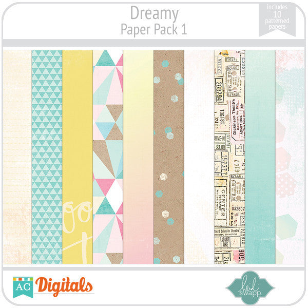 Dreamy Paper Pack 1