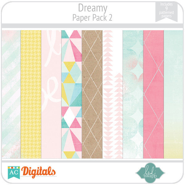 Dreamy Paper Pack 2
