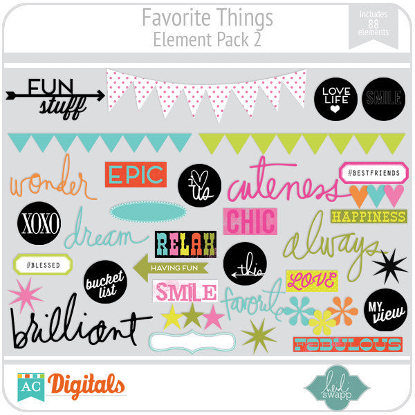 Favorite Things Element Pack 2