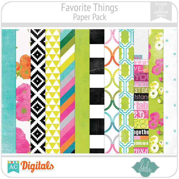 Favorite Things Paper Pack