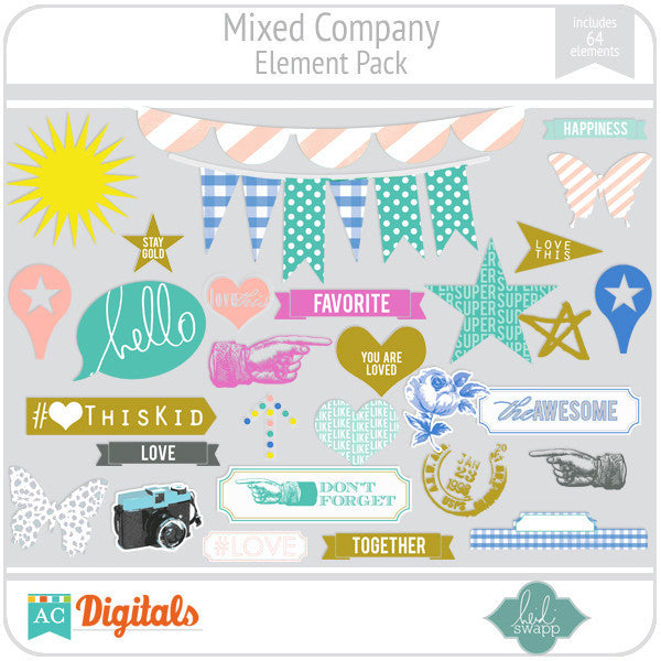 Mixed Company Element Pack