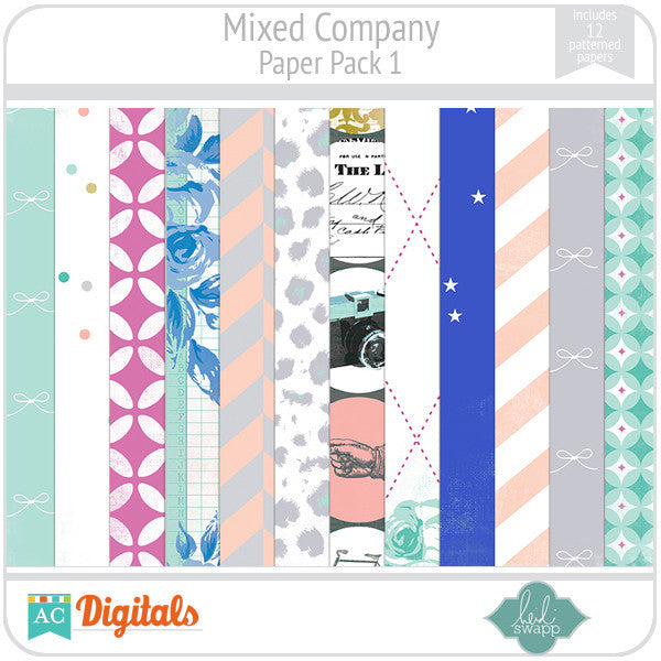 Mixed Company Paper Pack 1
